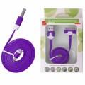 KABEL USB iPHONE 3G/3Gs/4/4s plochý  fialový