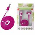 KABEL USB iPHONE 3G/3Gs/4/4s Plochý růžový