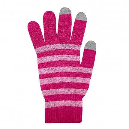 Dotykové rukavice Červené+Růžové XL size Ego mobile