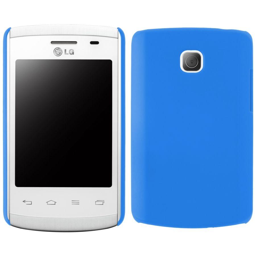 """Pouzdro na LG L1 II (E410) -""""COBY"""" (zadní kryt) - modré Ego mobile"""