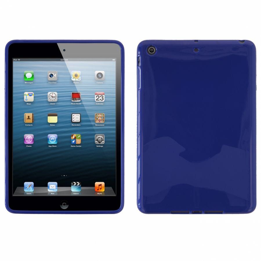 POUZDRO na iPad Mini - JELLY CASE (kryt hran a zadní části) - modré