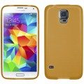 Pouzdro na Samsung S5 G900F karamelové - JELLY CASE
