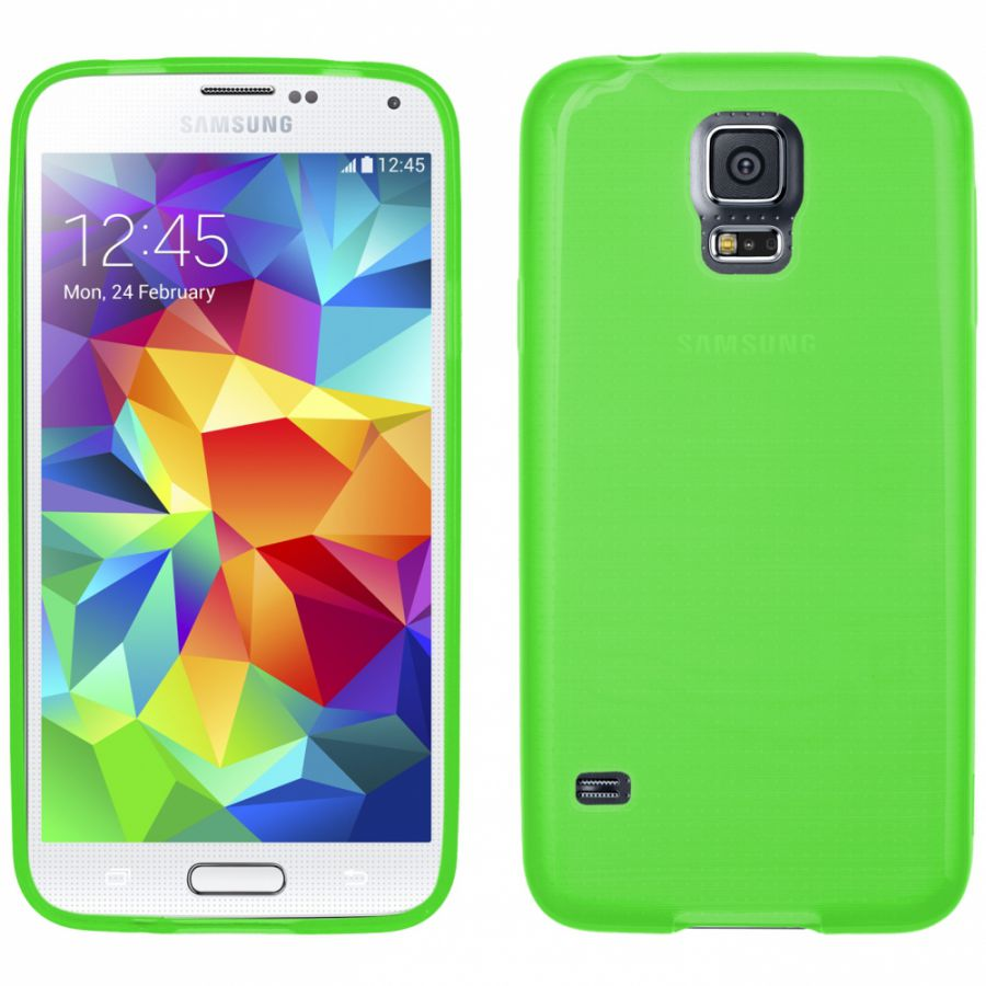 Pouzdro EGO Mobile na Samsung S5 G900F- Metallic zelené