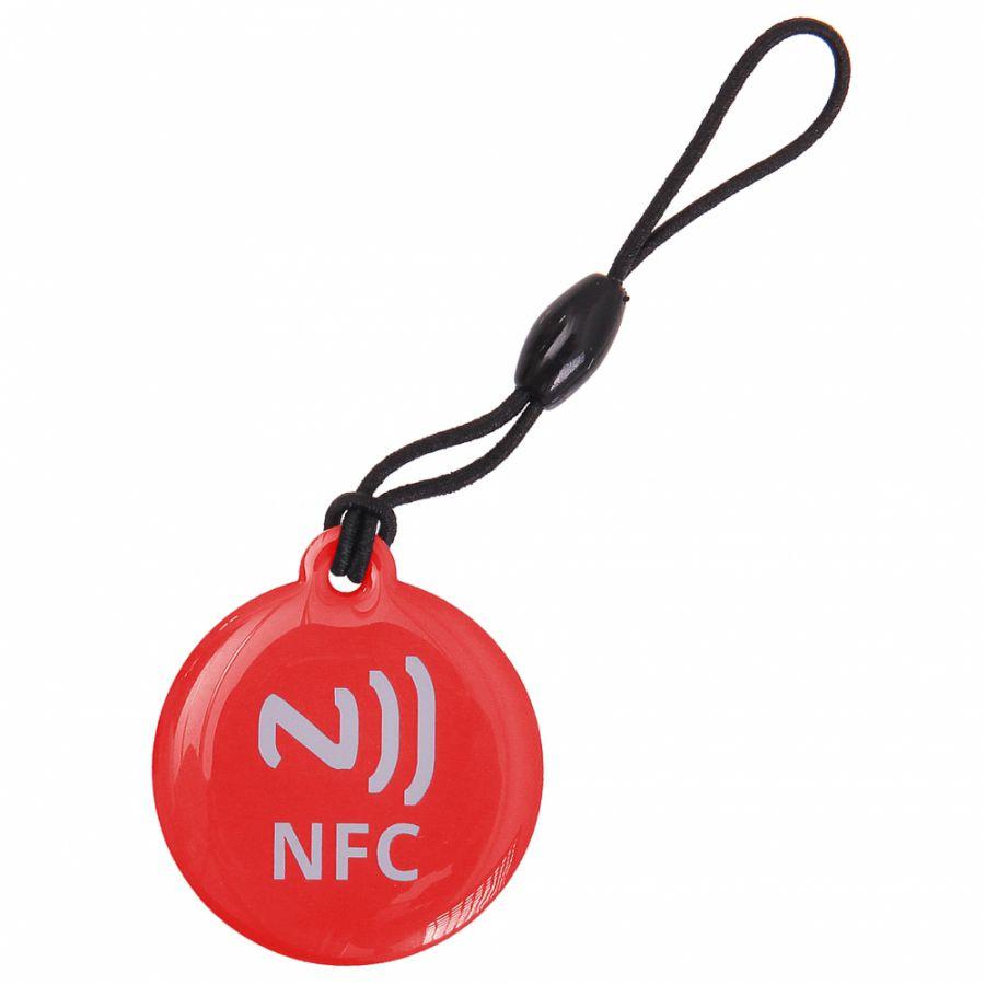 Přívěsek Tag NFC červený GT