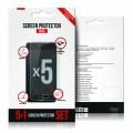 Ochranná fólie na displej LCD 5-PACK Samsung S5 SM-G900F