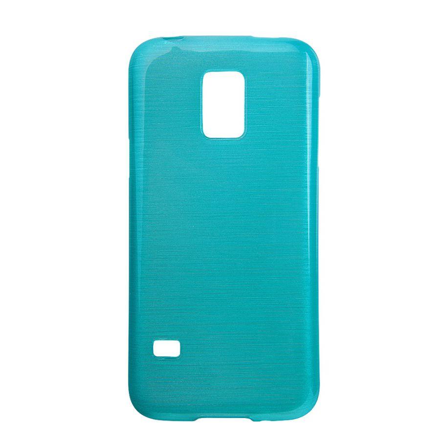 Pouzdro EGO Mobile na Samsung G800 S5 Mini Metallic modré