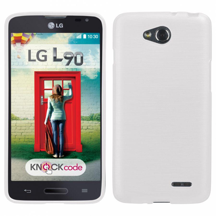Pouzdro EGO Mobile na HTC One M8 Metallic bílé