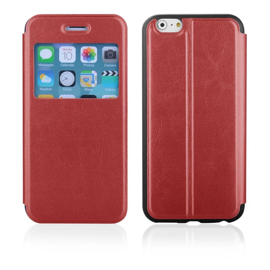 """Pouzdro EGO Mobile na iPhone 6 4.7"""" - SLIM VIEW - červené"""