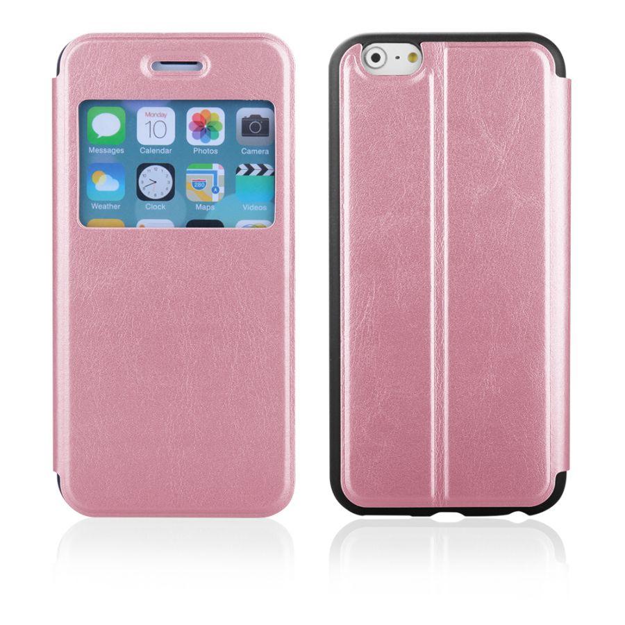 """Pouzdro EGO Mobile na iPhone 6 4.7"""" - SLIM VIEW - růžové"""