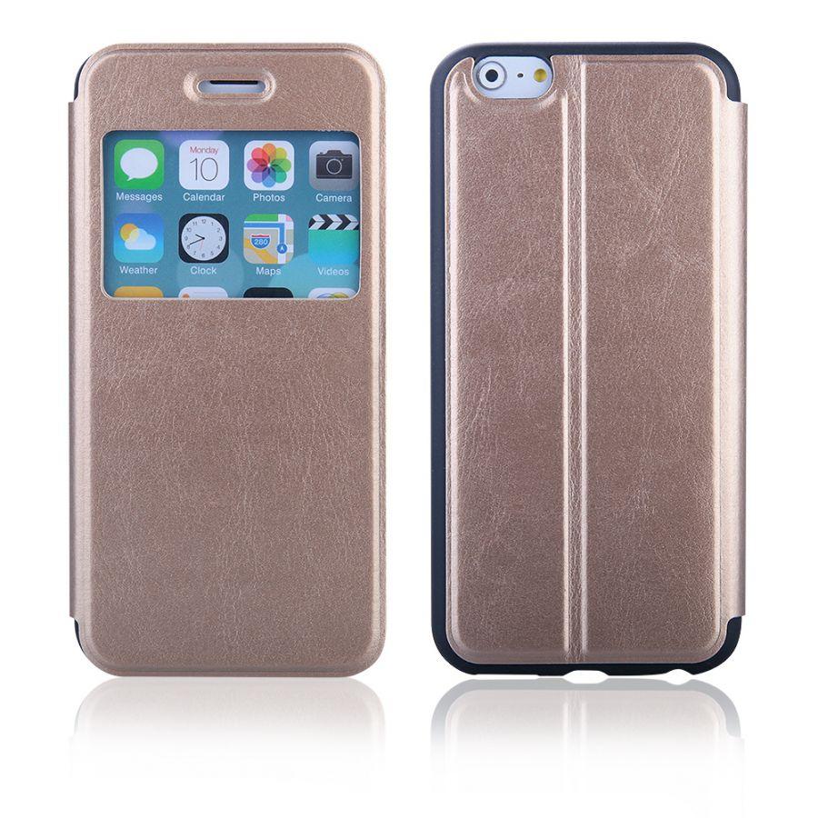 """Pouzdro EGO Mobile na iPhone 6 4.7"""" - SLIM VIEW - zlaté"""