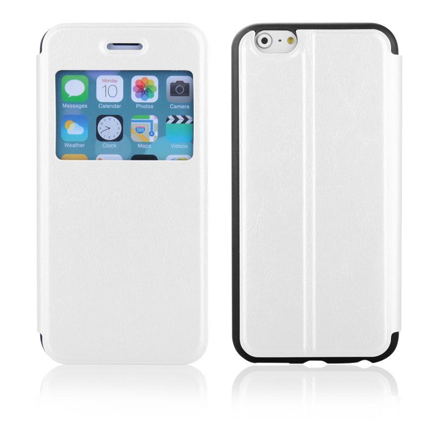 "Pouzdro EGO Mobile na iPhone 6 Plus 5.5"" - SLIM VIEW - bílé"