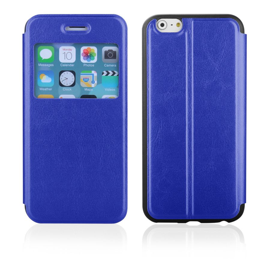 "Pouzdro EGO Mobile na iPhone 6 Plus 5.5"" - SLIM VIEW - modré"