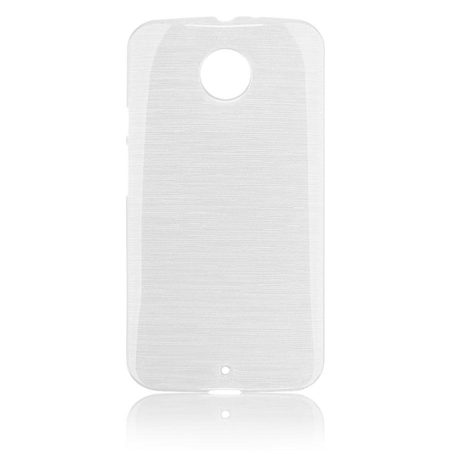 Pouzdro EGO Mobile na Motorola X (2014) Metallic bílé