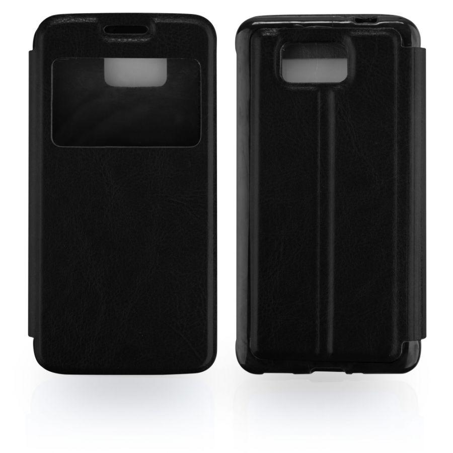 Pouzdro EGO Mobile na Samsung G850 Galaxy Alpha - SLIM VIEW - černé