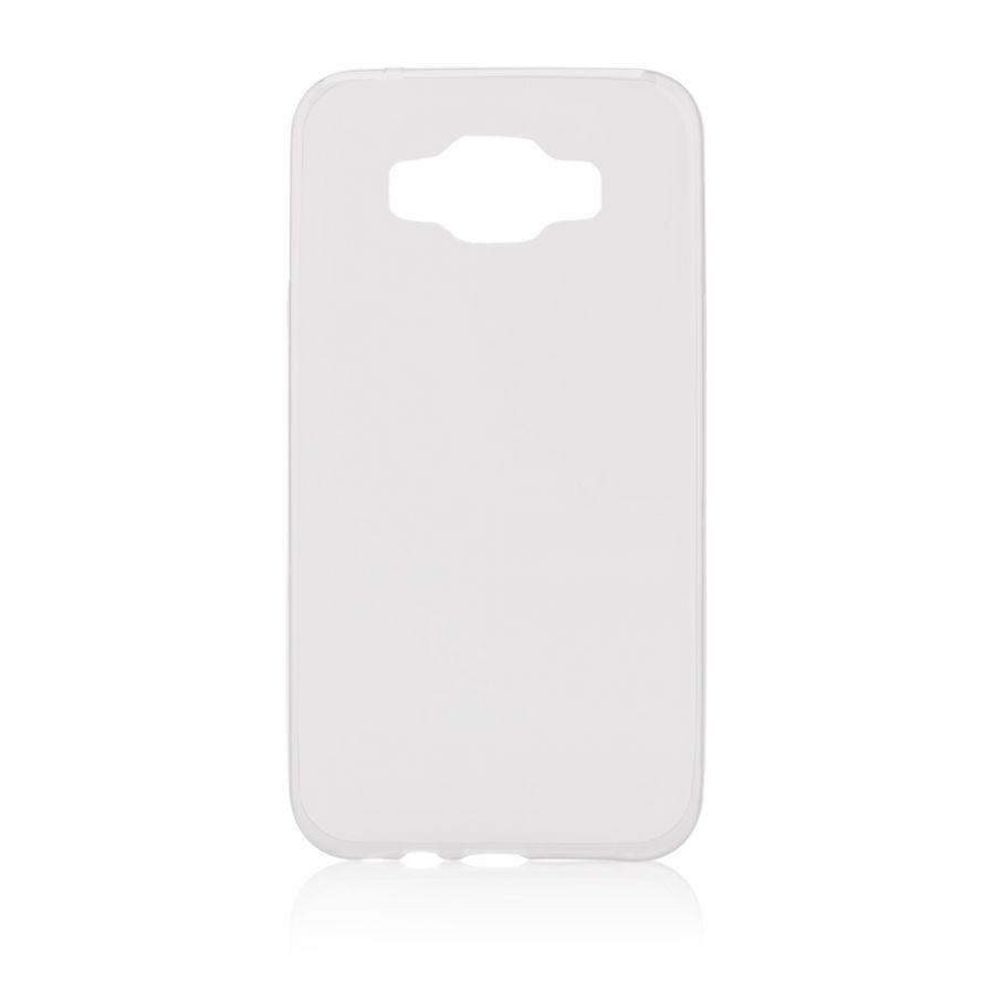 Pouzdro na Samsung E700 E7 - FITTY (zadní kryt) průhledné Jelly Case