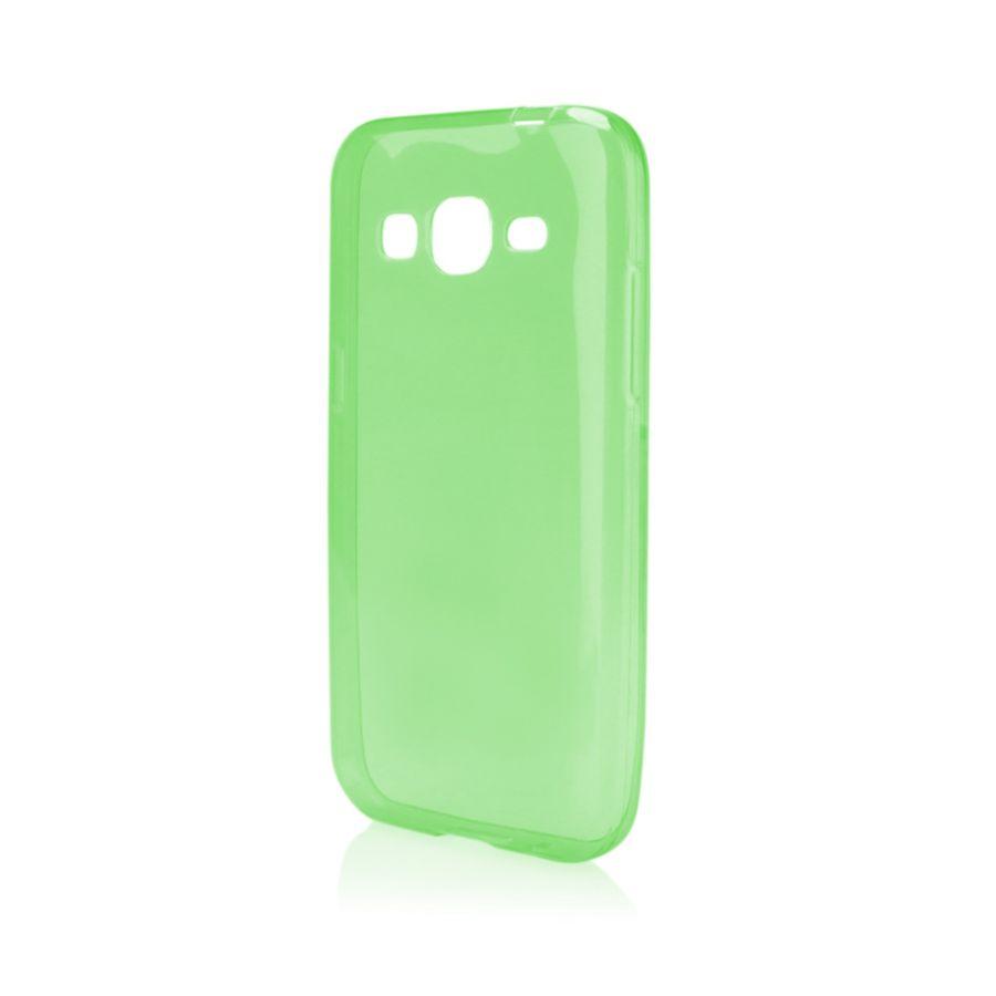 Pouzdro na Samsung G360 CORE PRIME - FITTY (zadní kryt) zelené Jelly Case