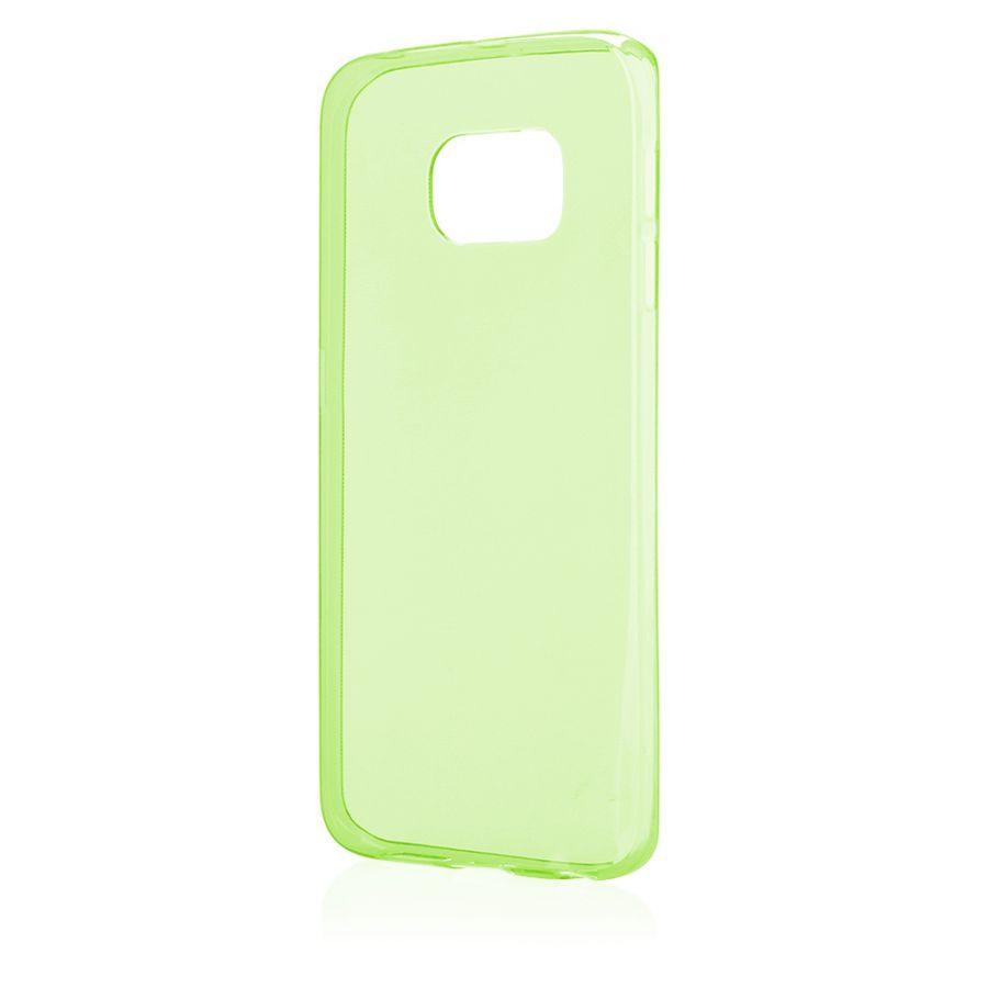Pouzdro na Samsung G925 S6 EDGE - FITTY (zadní kryt) - zelené Jelly Case