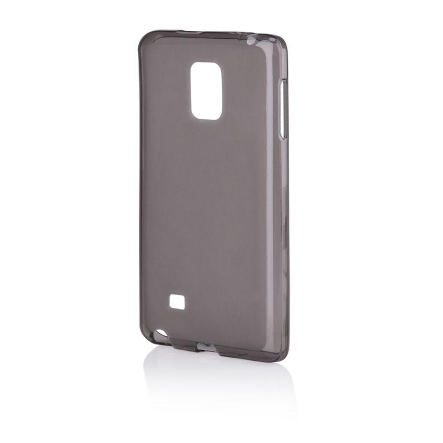 Pouzdro na Samsung N915 NOTE EDGE - FROSTED (zadní kryt) - černé Jelly Case