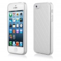 Pouzdro Qult Skin pro iPhone 5/5s bílé