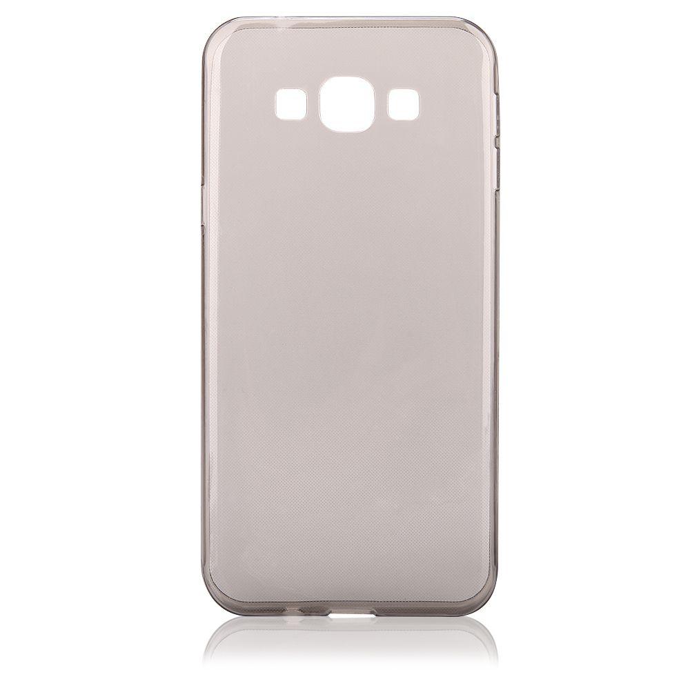 """Pouzdro na Samsung A800 Galaxy A8 - CASE """"FITTY"""" (zadní kryt) - černé Jelly Case"""