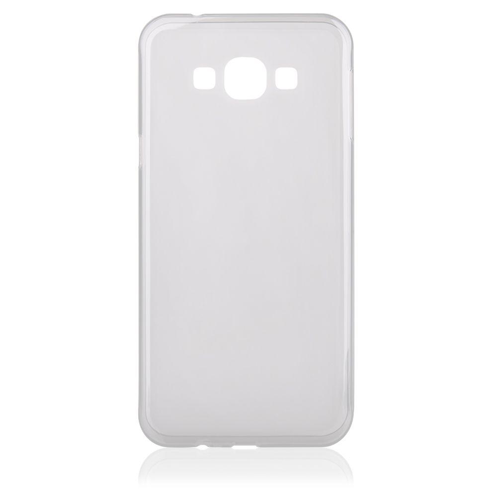 """Pouzdro na Samsung A800 Galaxy A8 - CASE """"FROSTED"""" (zadní kryt) - průhledné Jelly Case"""