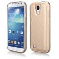 Pouzdro Qult Skin pro Samsung i9500 S4 zlaté