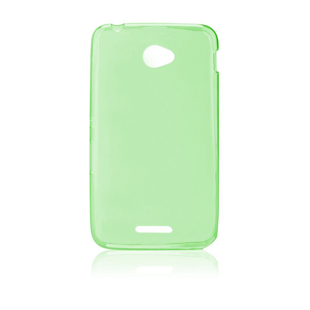 "Pouzdro na Sony Xperia E4 (E2105) - ""FITTY"" (zadní kryt) - zelené Jelly Case"
