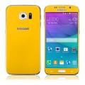 Ochranné tvrzené sklo pro Samsung G920 S6 (přední+zadní) žluté - TEMPERED GLASS