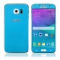 Ochranné tvrzené sklo pro Samsung G920 S6 (přední+zadní) modré - TEMPERED GLASS