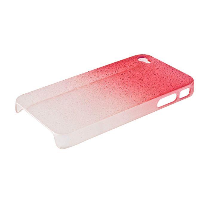 Pouzdro na HTC RADAR C110E - ochranný kryt - Raindrop červené GreenGo