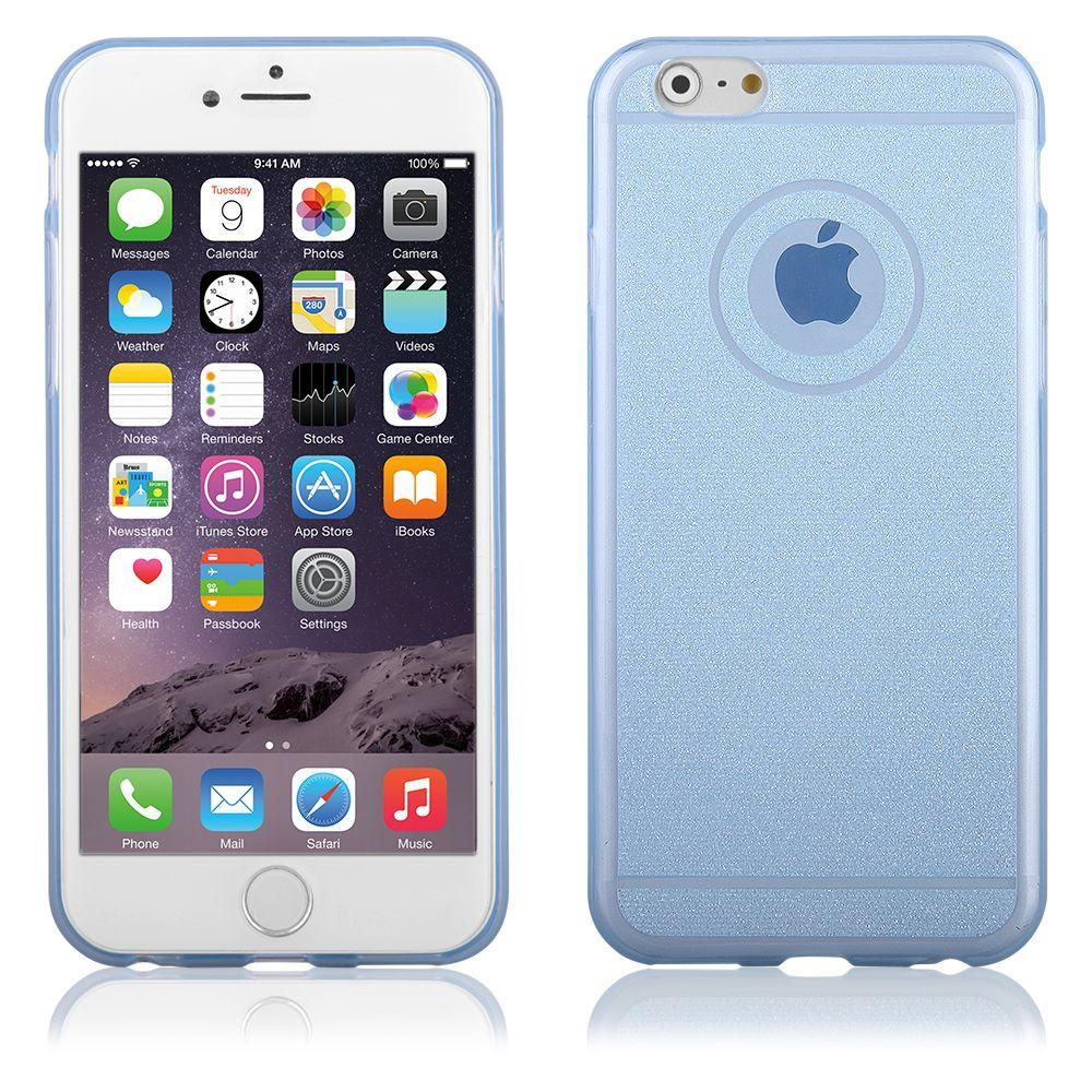 """Pouzdro na iPhone 6 Plus 5.5"""" - CASE """"SHINE"""" - modré QULT Case"""