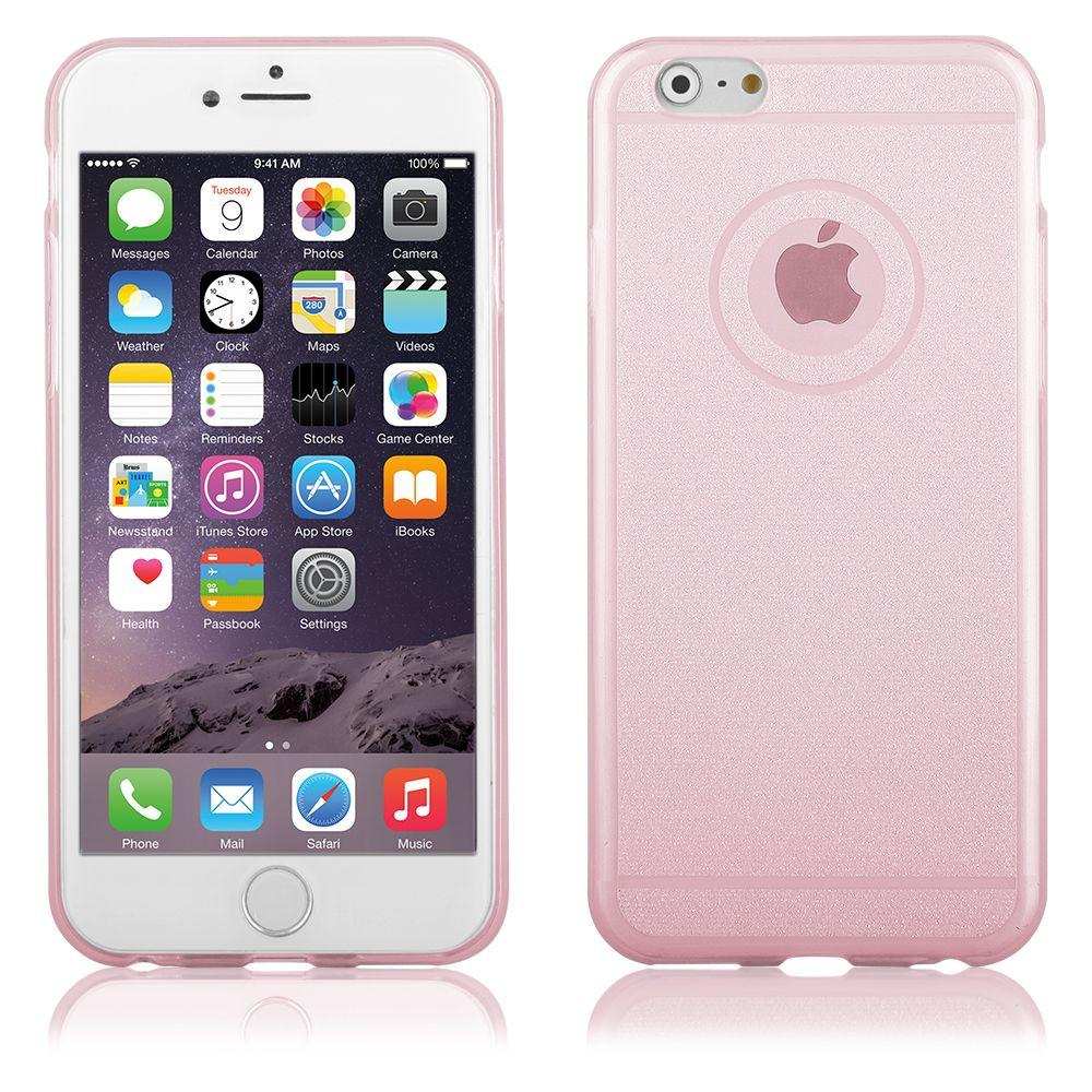 """Pouzdro na iPhone 6 Plus 5.5"""" - CASE """"SHINE"""" - růžové QULT Case"""