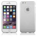 "Pouzdro na iPhone 6 Plus 5.5"" - CASE ""SHINE"" - stříbrné"