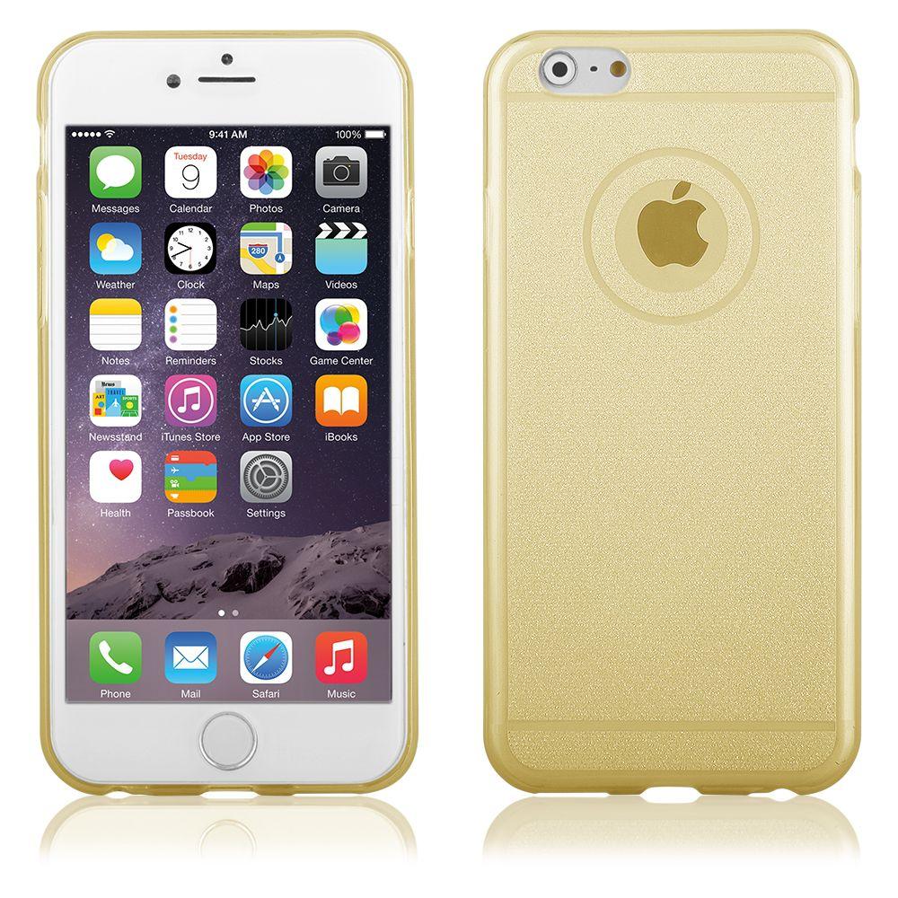 """Pouzdro na iPhone 6 Plus 5.5"""" - CASE """"SHINE"""" - zlaté QULT Case"""