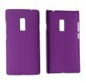 Pouzdro na Nokia C6-01 - ochranný kryt - fialové