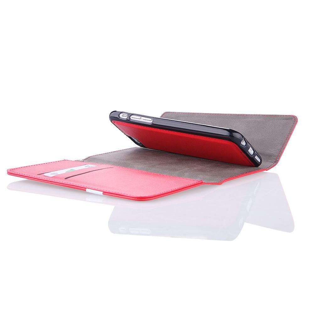 Pouzdro na Samsung G900 S5 QULT WALLET 2in1 WINGS červené EGO Mobile