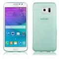"""Pouzdro na Samsung G920 Galaxy S6 - CASE """"SHINE"""" (zadní kryt) - zelené"""