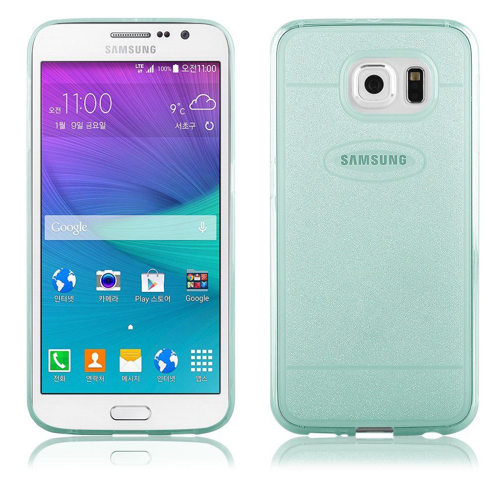 """Pouzdro na Samsung G920 Galaxy S6 - CASE """"SHINE"""" (zadní kryt) - zelené QULT Case"""