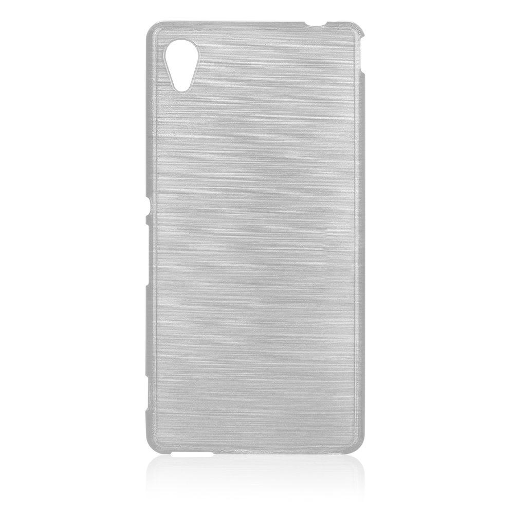 Pouzdro EGO Mobile na Sony Xperia M4 AQUA(E2303) Metallic bílé