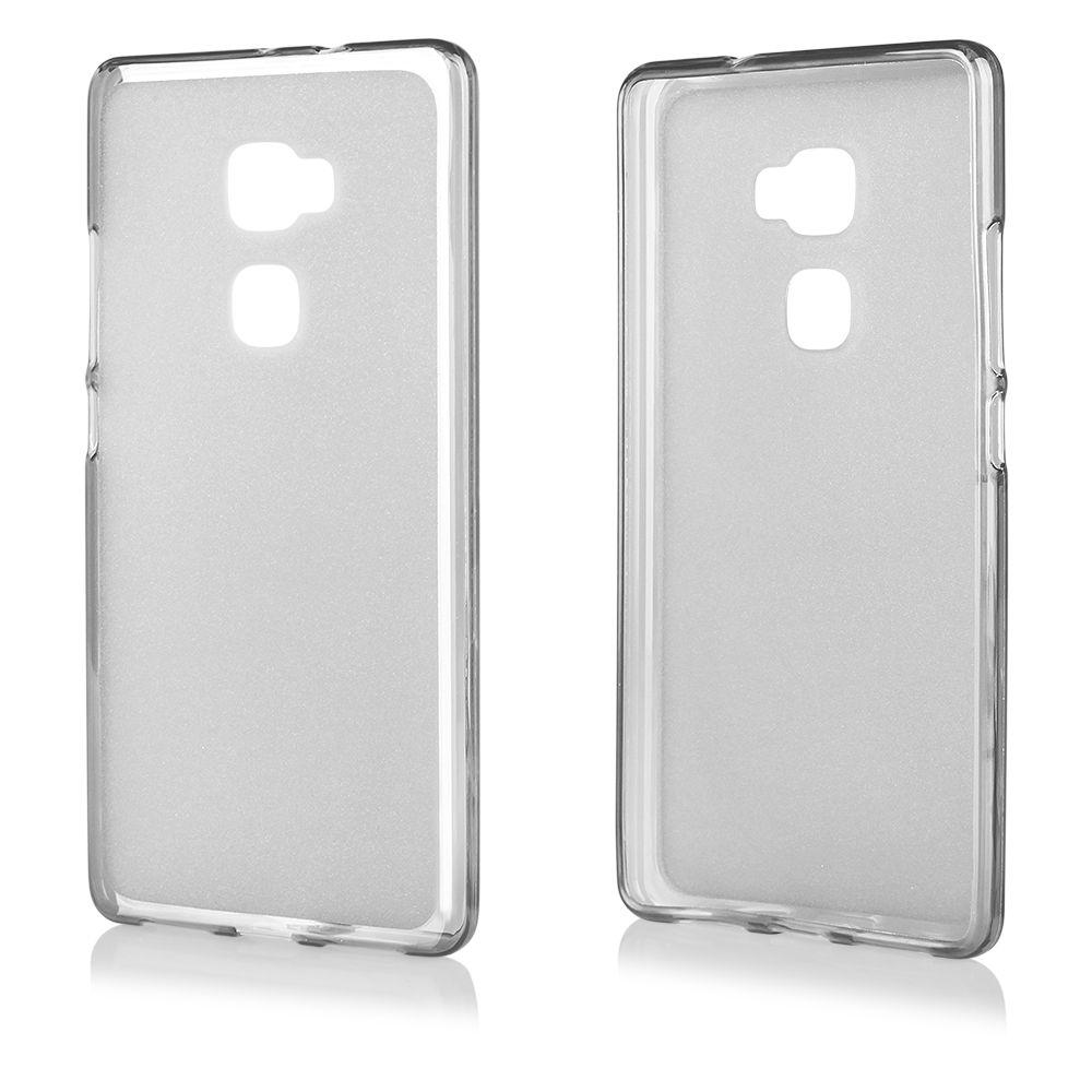 Pouzdro na Huawei MATE S - FROSTED - průhledné Jelly Case