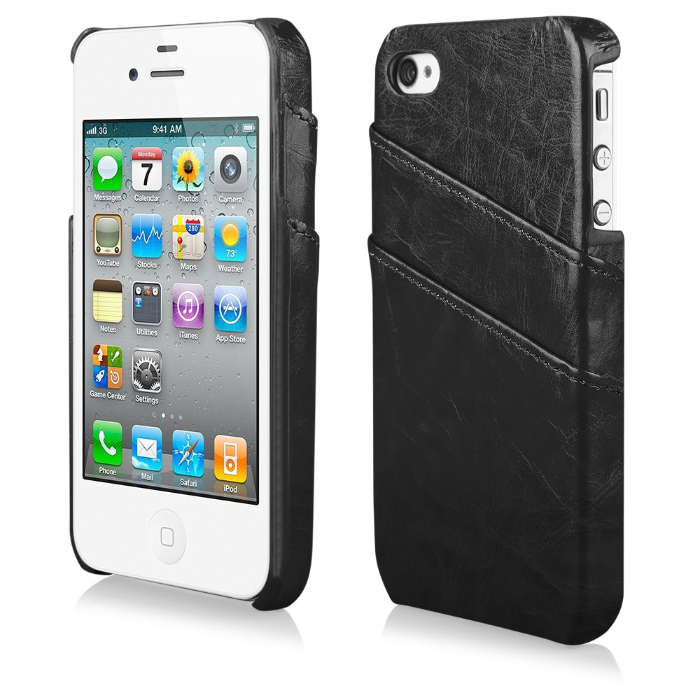 Pouzdro na iPhone 4/4s BUSINESS - černé Ego Mobile
