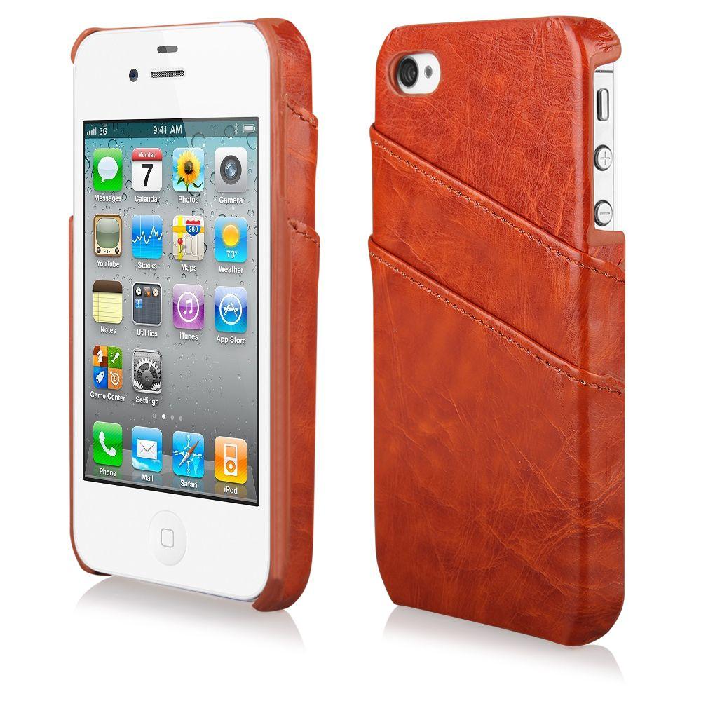 Pouzdro na iPhone 4/4s BUSINESS - hnědé Ego Mobile