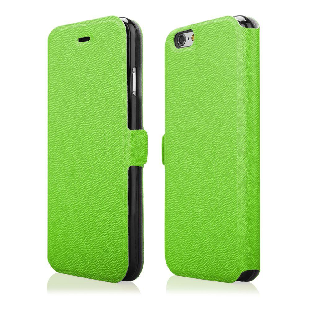 "Pouzdro na iPhone 6 4.7"" - FLIP SOFT zelené Ego mobile"