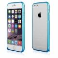 """Pouzdro na iPhone 6 4.7"""" - Bumper metal - modré"""