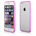 "Pouzdro na iPhone 6 4.7"" - Bumper metal - tmavě růžové"