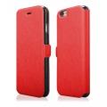 "Pouzdro na iPhone 6 Plus 5.5"" - FLIP SOFT červené Ego mobile"