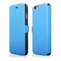 """Pouzdro na iPhone 6 Plus 5.5"""" - FLIP SOFT světle modré"""