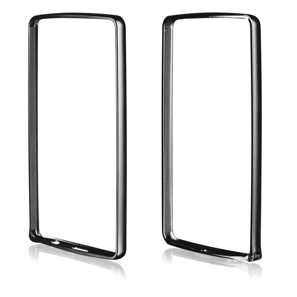 Pouzdro na LG G3s (D722) - Bumper metal - černé QULT Case