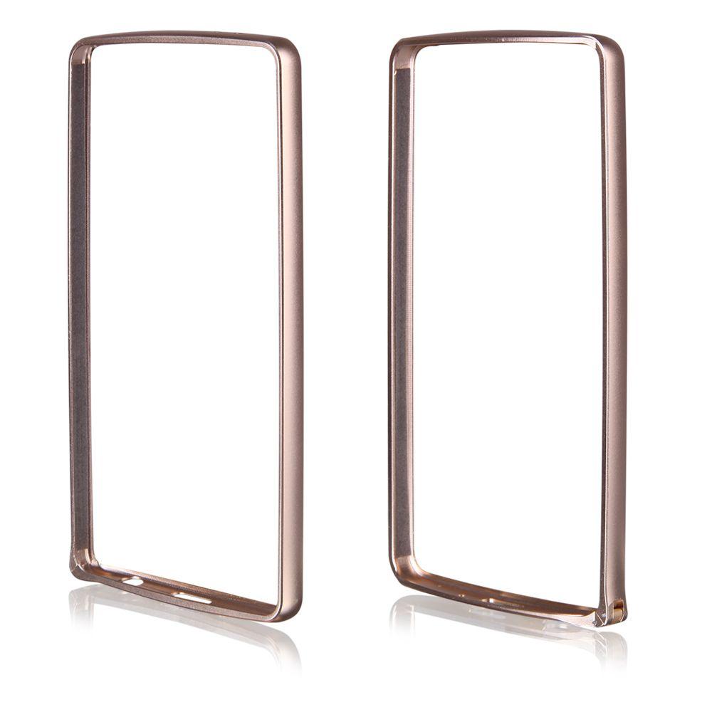 Pouzdro na LG G3s (D722) - Bumper metal - zlaté QULT Case