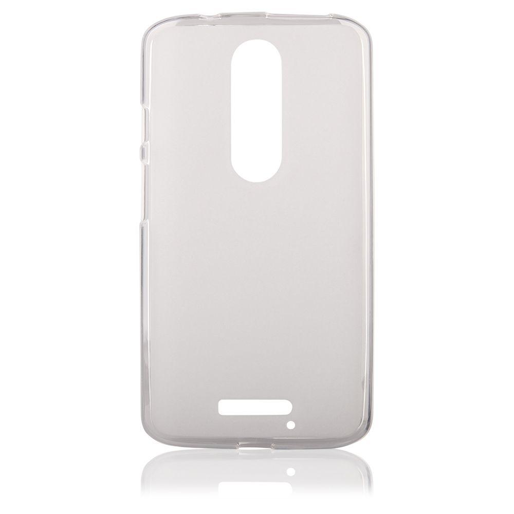 Pouzdro na Motorola MOTO X Style - FROSTED - průhledné Jelly Case